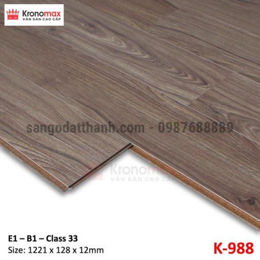 Sàn gỗ công nghiệp Kronomax 12mm 10