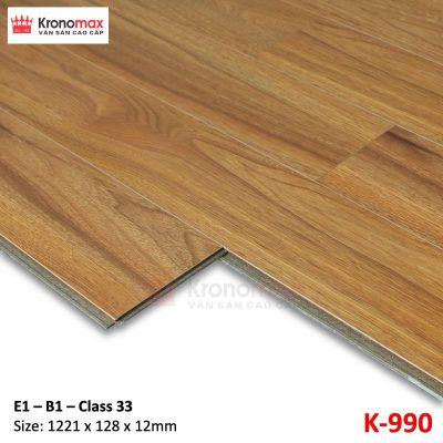 Sàn gỗ công nghiệp Kronomax 12mm 9