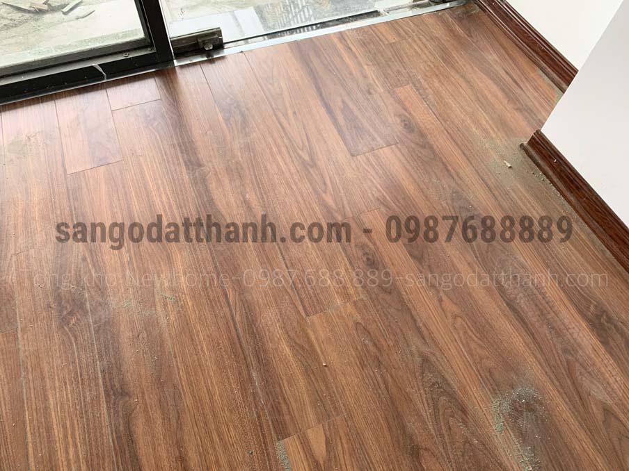 Sàn gỗ Ecolux Cốt Xanh Indonesia 12mm e153 12