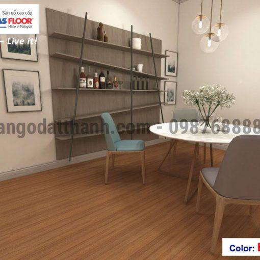 Sàn gỗ Masfloor 12mm 15