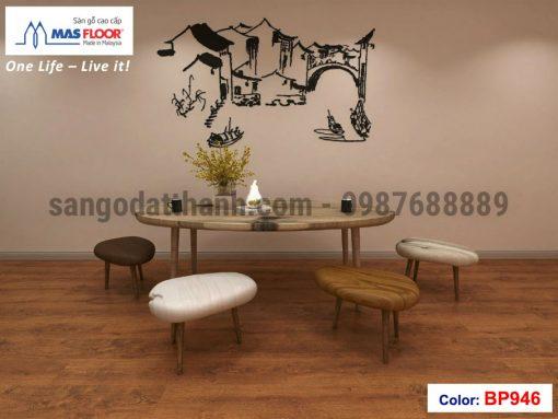 Sàn gỗ Masfloor 12mm 16