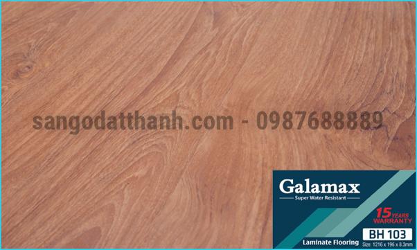 Sàn gỗ công nghiệp Galamax 8mm 1