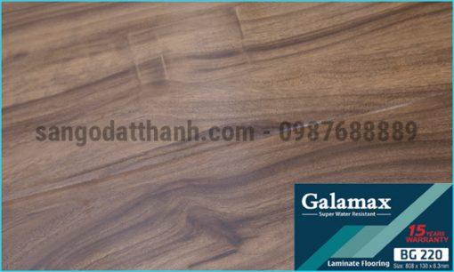 Sàn gỗ công nghiệp Galamax 8mm 12