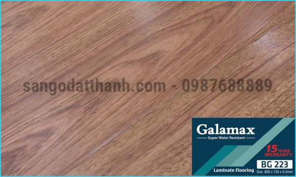 Sàn gỗ công nghiệp Galamax 8mm 14