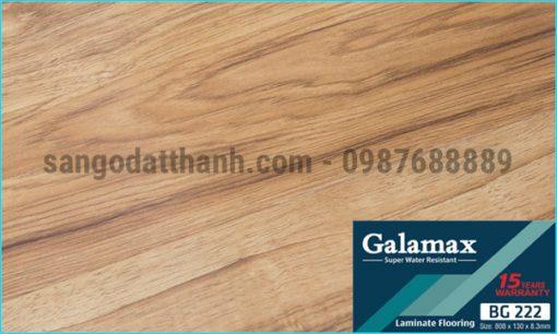 Sàn gỗ công nghiệp Galamax 8mm 15