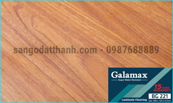 Sàn gỗ công nghiệp Galamax 8mm 16