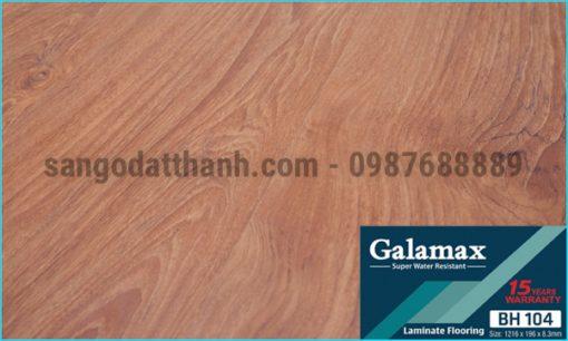 Sàn gỗ công nghiệp Galamax 8mm 18