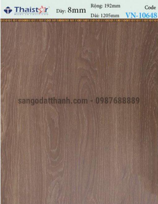 Sàn gỗ công nghiệp Thaistar 8mm 2