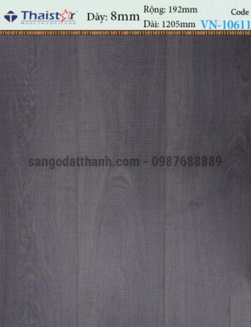 Sàn gỗ công nghiệp Thaistar 8mm