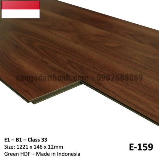 Sàn gỗ công nghiệp indo 12mm cốt xanh 10
