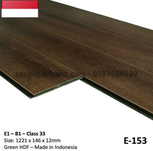 Sàn gỗ công nghiệp indo 12mm cốt xanh 13