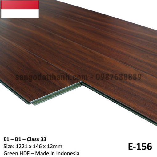 Sàn gỗ công nghiệp indo 12mm cốt xanh 14