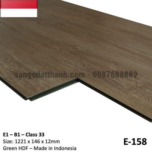 Sàn gỗ công nghiệp indo 12mm cốt xanh