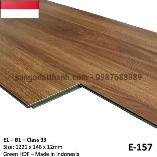 Sàn gỗ công nghiệp indo 12mm cốt xanh 8