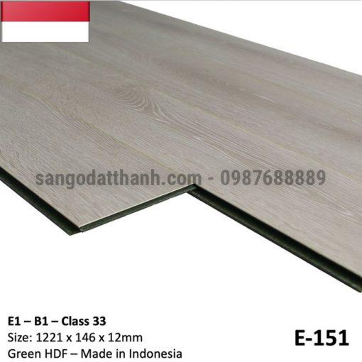Sàn gỗ công nghiệp indo 12mm cốt xanh 9