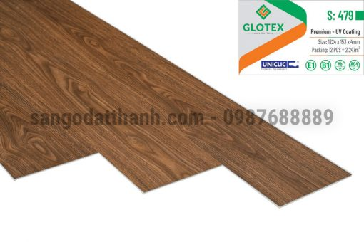 Sàn nhựa Glotex 4mm 12