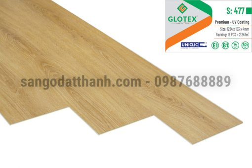 Sàn nhựa Glotex 4mm 15