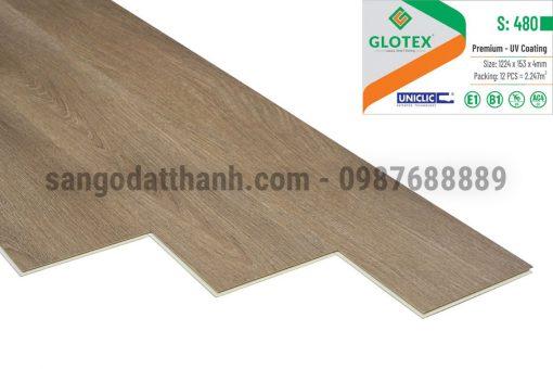 Sàn nhựa Glotex 4mm 18