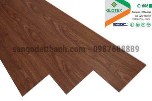 Sàn nhựa Glotex 6mm 10