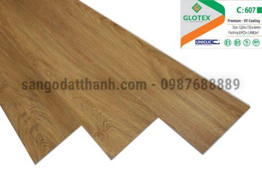 Sàn nhựa Glotex 6mm