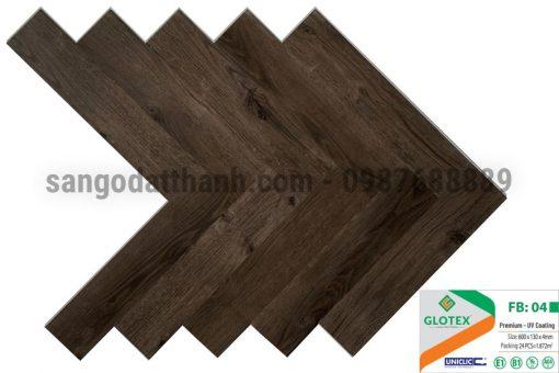 Sàn nhựa Glotex xương cá 4 1