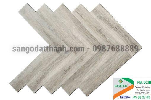 Sàn nhựa Glotex xương cá 6