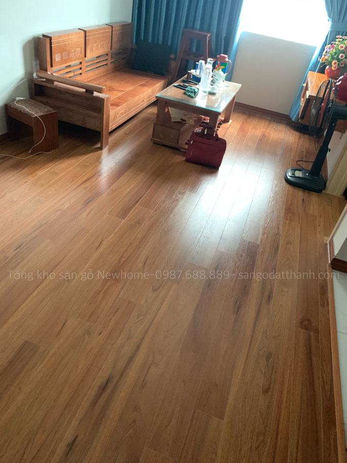Thi công sàn gỗ Kronomax 12mm 13