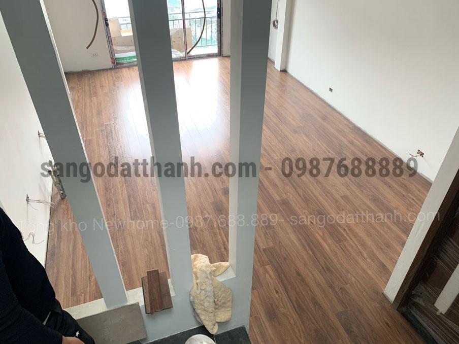 Thi công sàn gỗ công nghiệp Ecolux 157 5