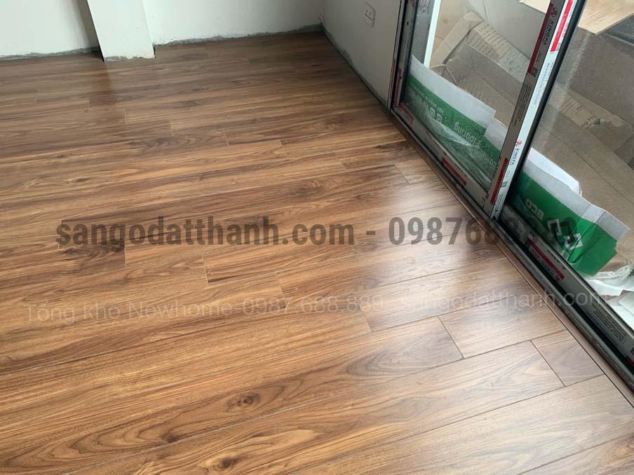 Thi công sàn gỗ công nghiệp Ecolux 157 6