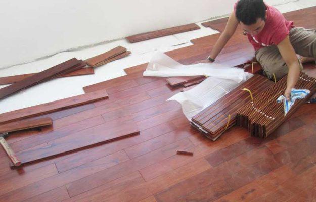 Lắp dặt sàn gỗ